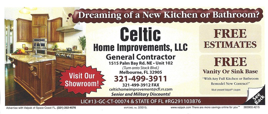 Bathroom Remodeling Melbourne Fl celtic home improvement, llc - melbourne fl kitchens and baths